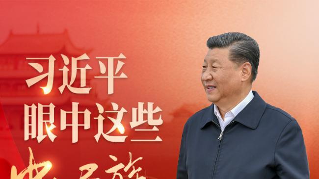 """习近平眼中这些""""中华民族的象征"""""""